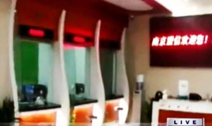 Грандиозная афера по-китайски: мошенники открыли фальшивый банк (3 фото)