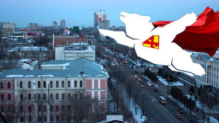 Летящий медведь - новый символ хабаровского аэропорта (28 фото)