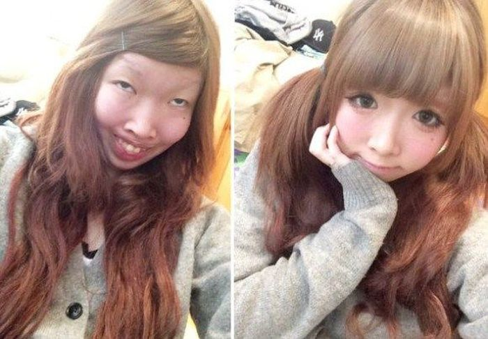 Японская няша оказалась фальшивой (8 фото)