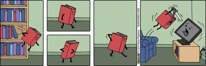Смешные комиксы (20 картинок)