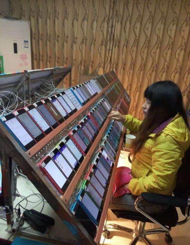 Как вы думаете, для чего необходимо столько смартфонов? (2 фото)