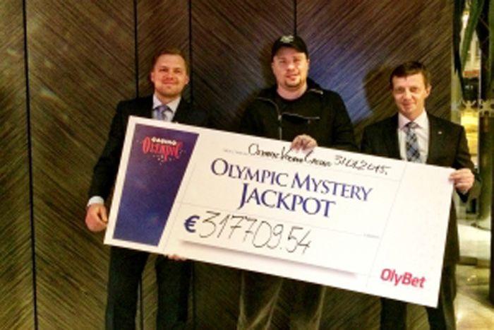 Гарик Харламов выиграл джек-пот в рижском казино (2 фото)