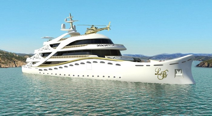 Роскошная яхта для женщин-миллионеров от Лидии Берсани (8 фото)