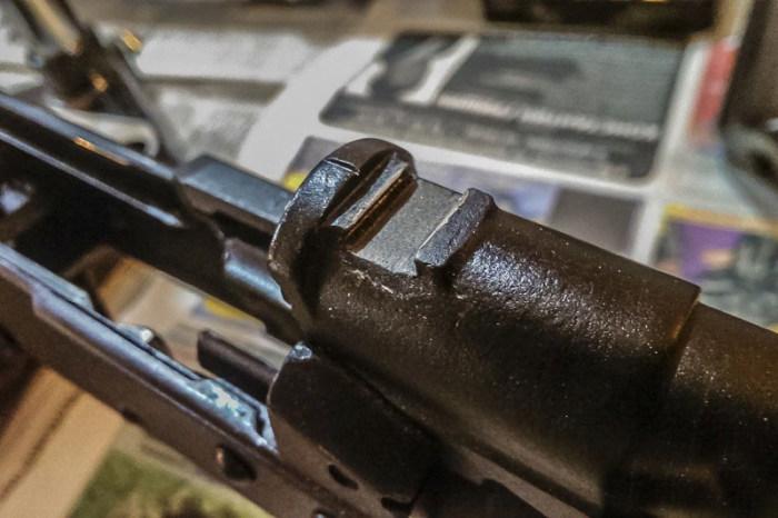 Моддинг карабина Сайга 20К при помощи буллпап комплекта (25 фото)