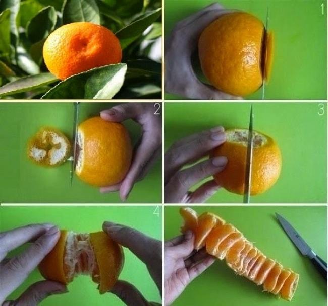 Простые способы быстрой нарезки продуктов (11 фото)