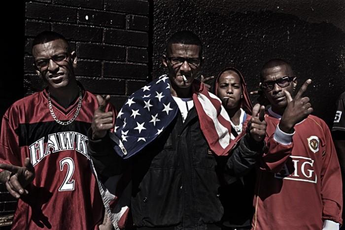 Банды с окраин Кейптауна (16 фото)