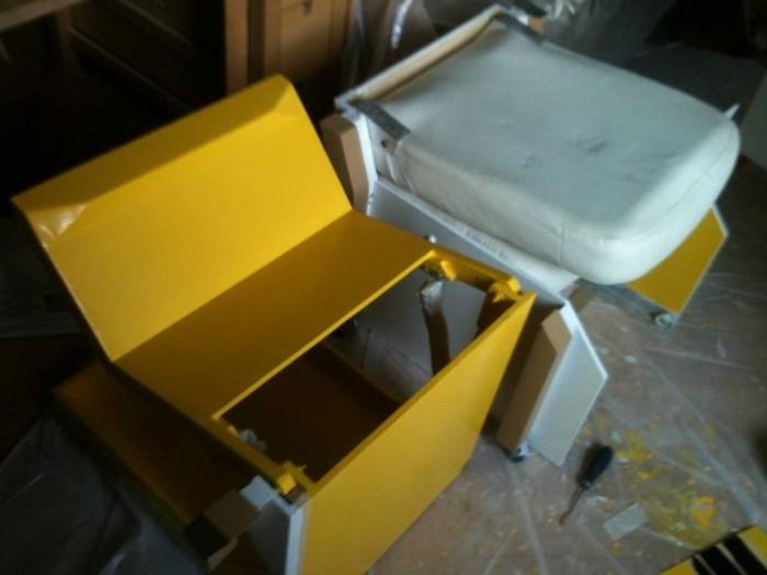 Самодельное раскладное гоночное кресло для автосимулятора (36 фото + видео)