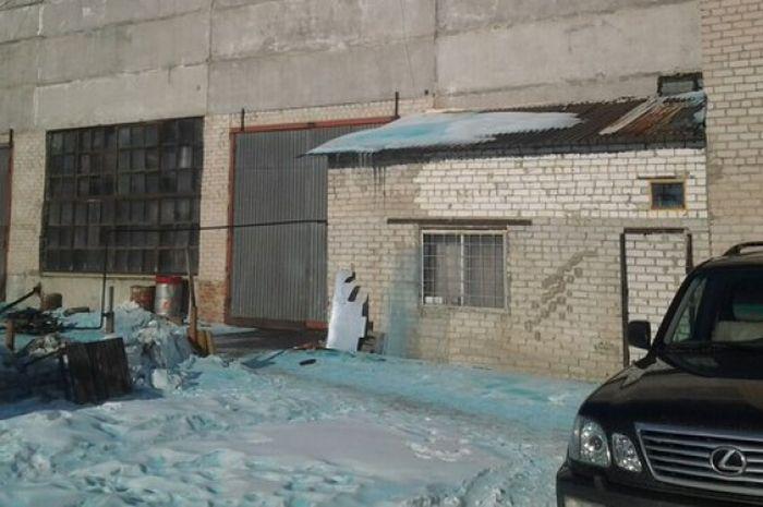 В Челябинской области выпал снег голубого цвета (9 фото + видео)