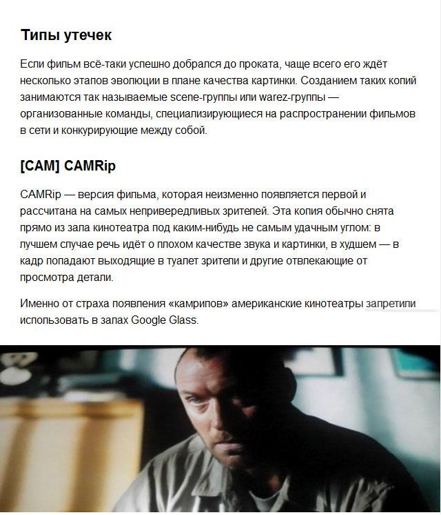 Как фильмы оказываются в интернете (11 фото)