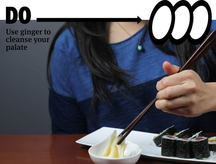 Правила употребления суши и роллов (14 фото)
