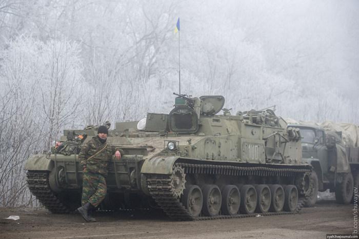 Итоги первого дня перемирия на Донбассе (8 фото)