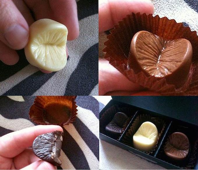 Необычная подарочная конфета (7 фото)