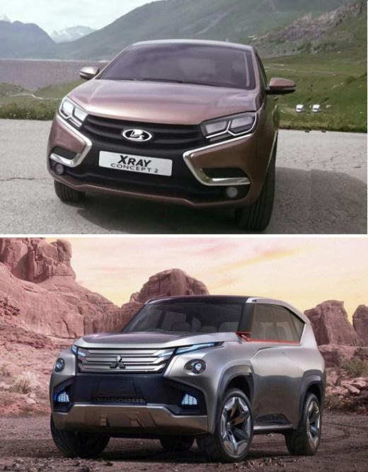Главный дизайнер «АвтоВАЗа» обвиняет компанию Mitsubishi в плагиате (3 фото)
