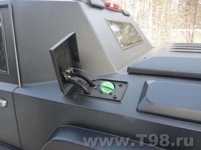 Роскошный броневик T-98 Комбат – самый быстрый бронированный внедорожник в мире (25 фото)