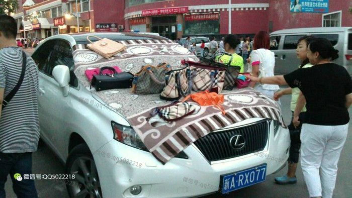 Что служит прилавком для уличных торговцев в Китае (36 фото)