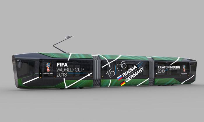 Уралвагонзавод представил изображения серийной модели трамвая R1 (17 фото)