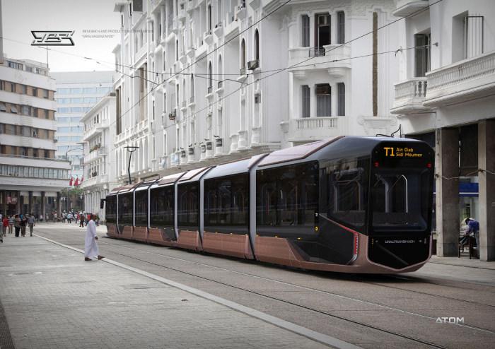фото трамвая r1