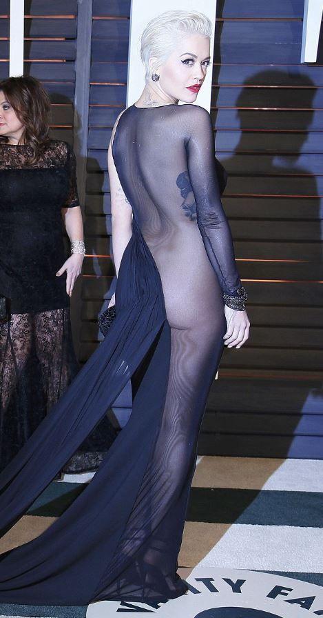 Ирина Шейк и Рита Ора похвастали аппетитными формами в откровенных платьях (5 фото)