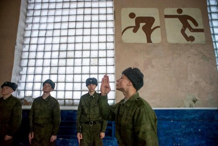 Будни военнослужащих роты почетного караула (36 фото)