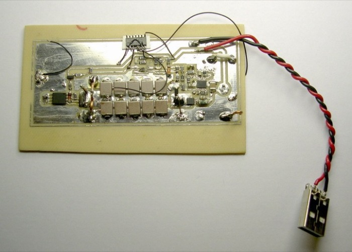 Как один электронщик изготовил «флешку мести» (4 фото)