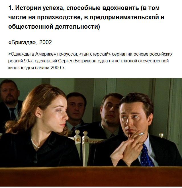 Минкульт назвал преимущественные темы российского кинематографа (10 фото)