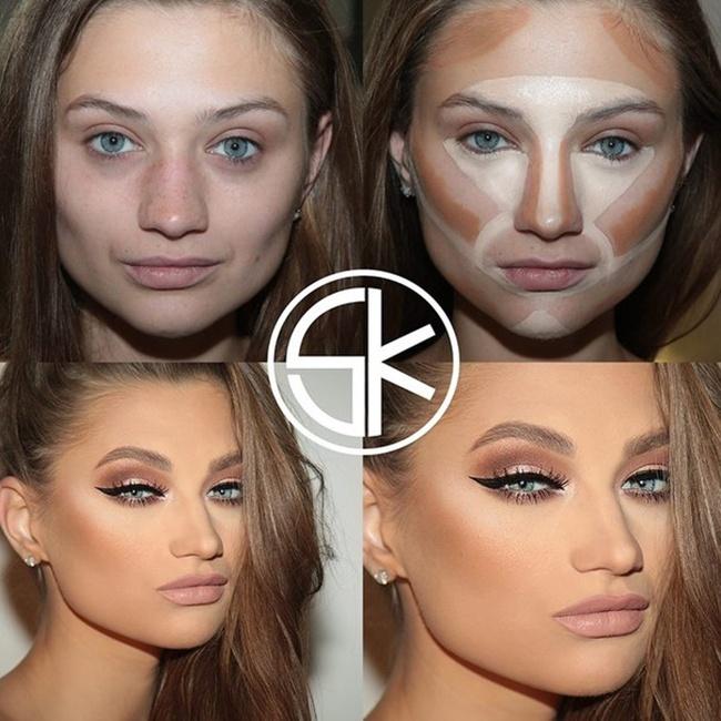 Наложить макияж на фото онлайн