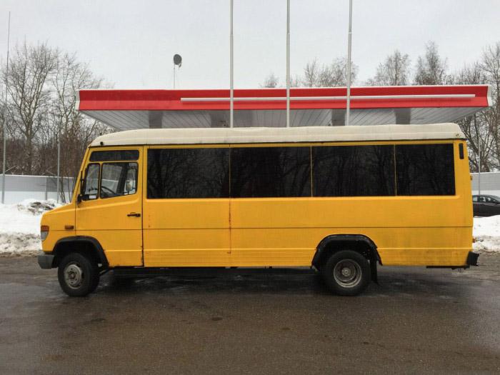 Что будет, если объединить русскую смекалку и микроавтобус Mercedes-Benz (4 фото)