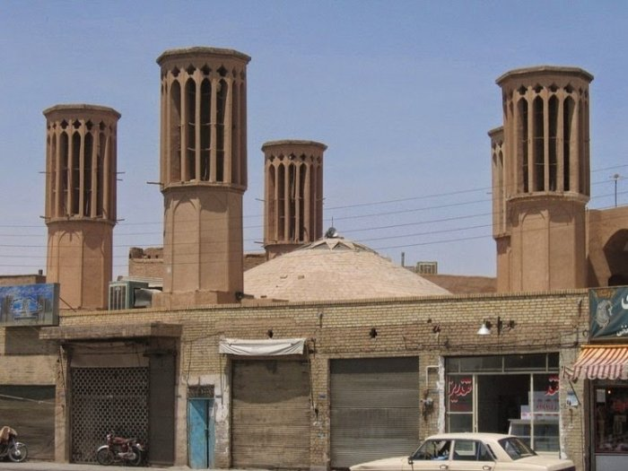 Башни строений Ближнего Востока (7 фото)