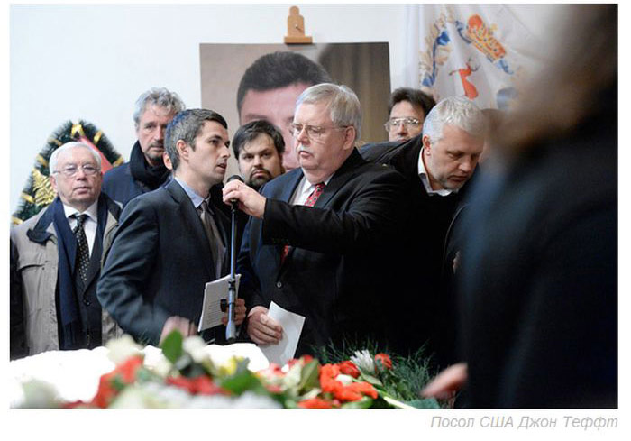 В Москве простились с убитым политиком Борисом Немцовым (44 фото)