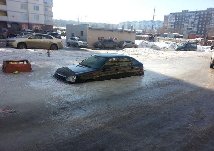 Чем грозит неправильно выбранное место парковки (3 фото)