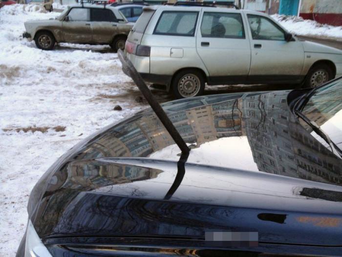 Автоместь от сурового жителя Челябинска (3 фото)
