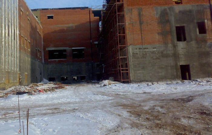 Как немцы завод строили (6 фото)