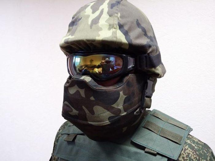 Защитная амуниция в стиле шлема имперских штурмовиков (13 фото)