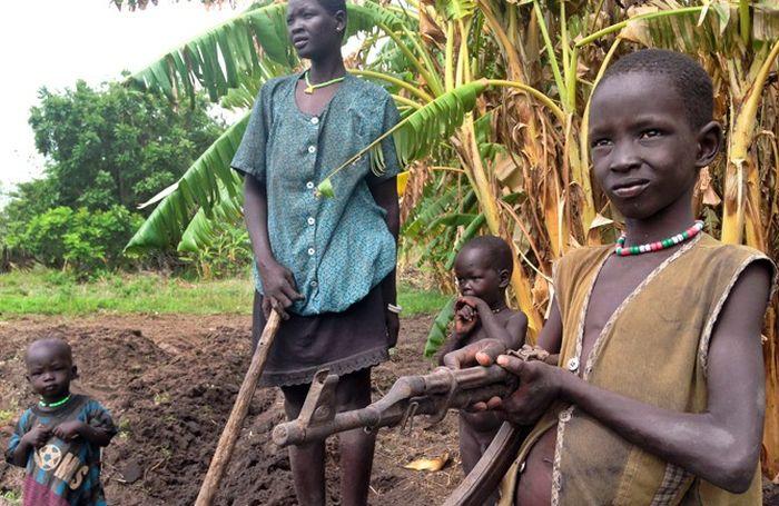 Как живут люди в Южном Судане (8 фото)