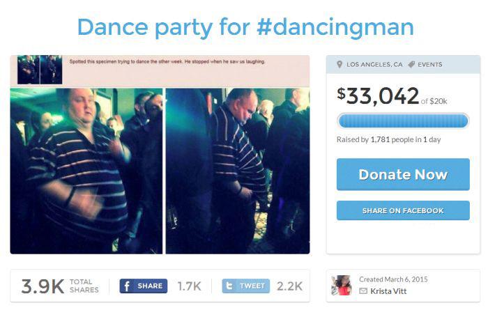 Полный любитель танцев стал звездой интернета (5 фото)