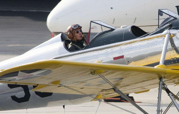 Знаменитый актер Харрисон Форд после экстренного приземления оказался в больнице (10 фото)