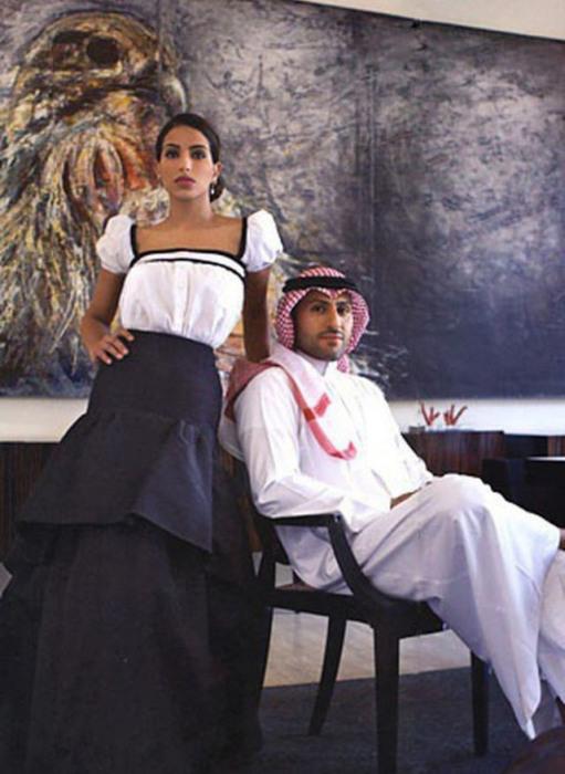 Жизнь современной ближневосточной принцессы Дины Абдулазиз Аль Сауд (15 фото)