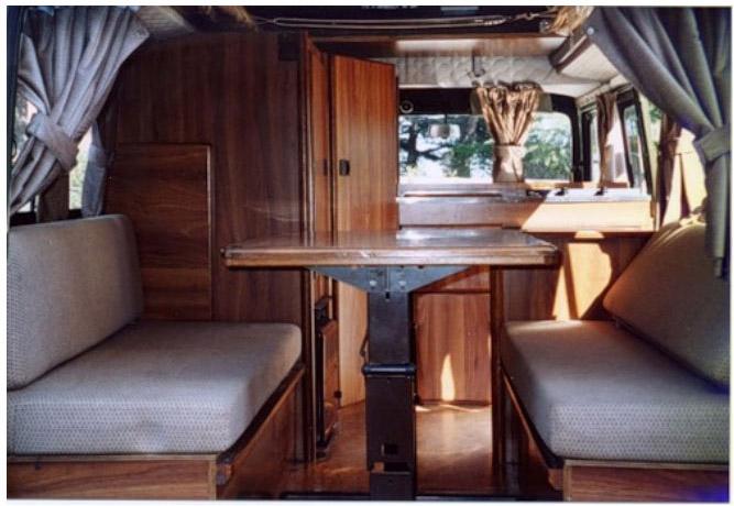 Дом на колесах на базе УАЗа «Буханки» (7 фото)