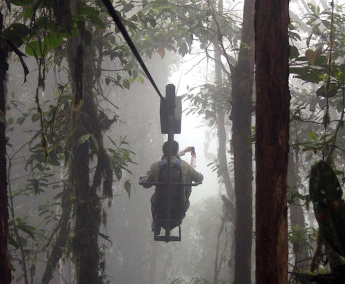 «Небесный велосипед» в Эквадоре (6 фото)