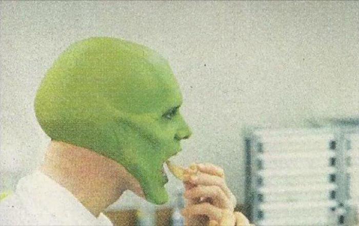 Как Джима Керри превращали в Маску (7 фото)