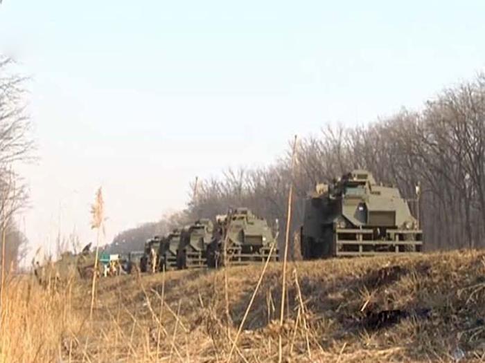 Украинская армия понесла небоевые потери на трассе Киев-Харьков (4 фото)