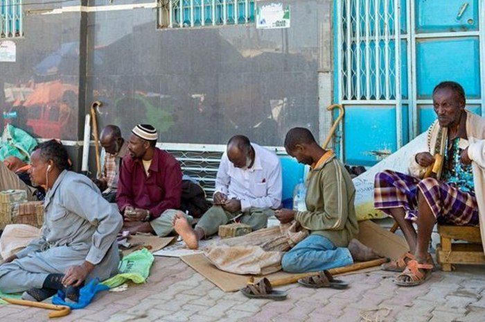 Африканские менялы (8 фото)