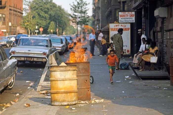 Гарлем в 1970-м году на фото Джека Гарофало (24 фото)