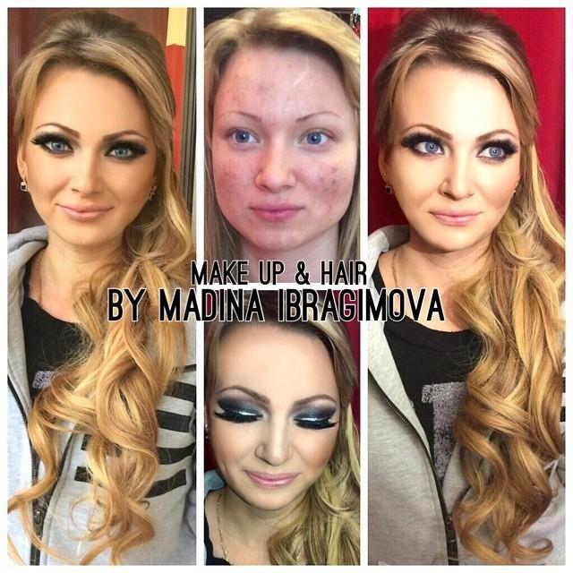 Огромная сила макияжа (41 фото)