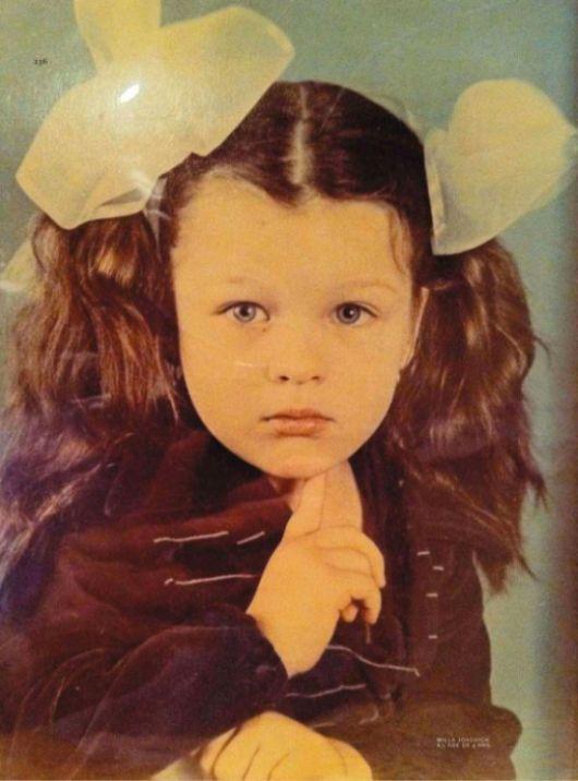 Угадай звезду по детскому фото (2 фото)