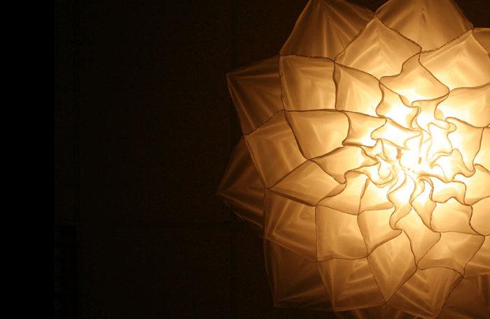 Уникальные люстры в форме «живых» цветов (6 фото)