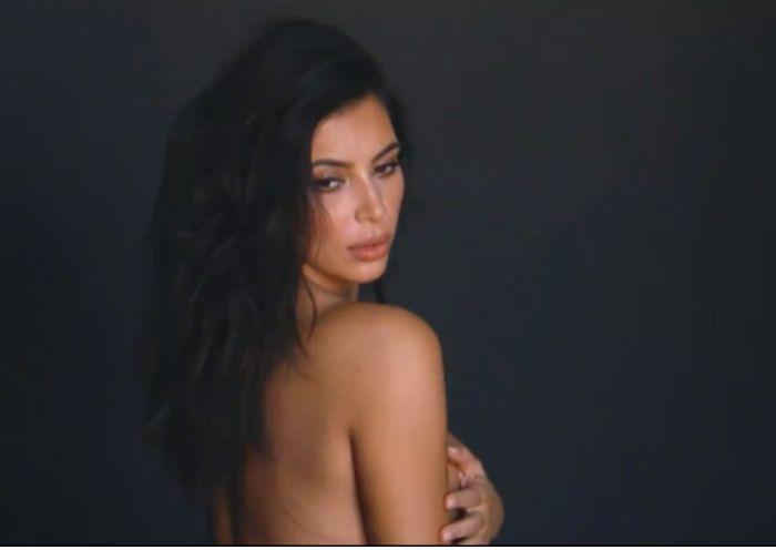 Ким Кардашьян снялась в обнаженной фотосессии перед второй беременностью. НЮ (6 фото)
