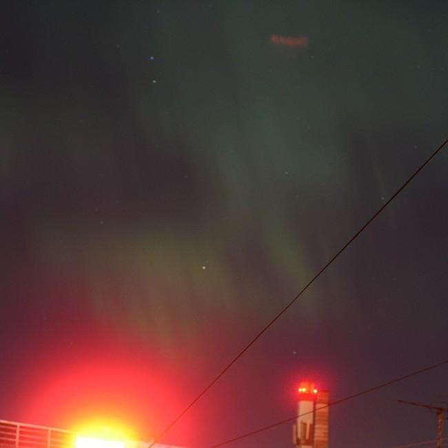 Жители некоторых городов центральной части России стали свидетелями северного сияния (19 фото)