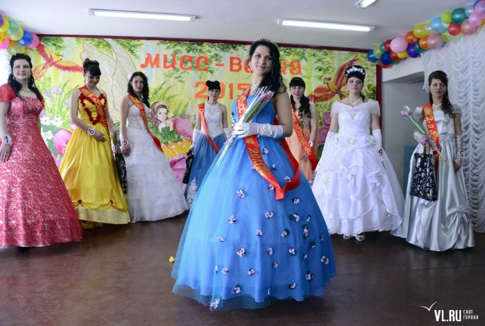 В женской колонии Приморского края выбрали «Мисс Весну – 2015» (32 фото)