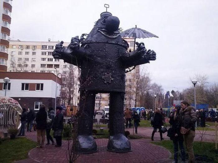 Фото, которые возможно было сделать только в России (42 фото)